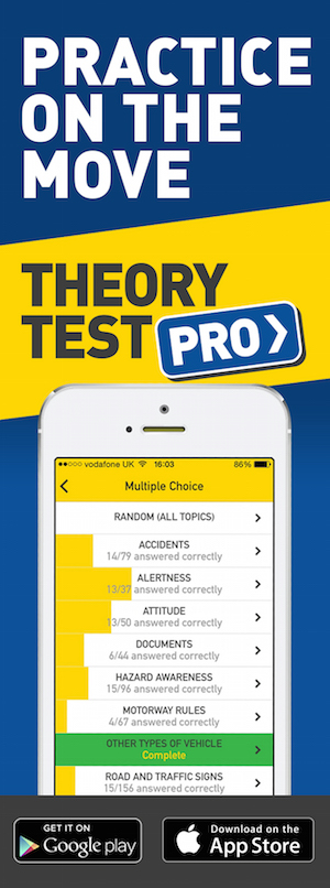 Theory Test Pro in partnership with GK Learners